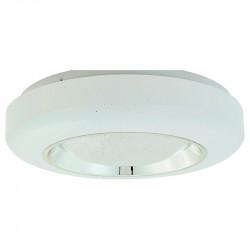 Lámpara de techo plafón LED, Serie Hadar, armazón metálico y acrílico, iluminación LED integrada, 24W 3.000lm 4.000K.