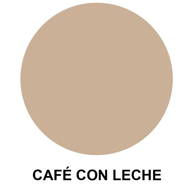Acabado Café con leche